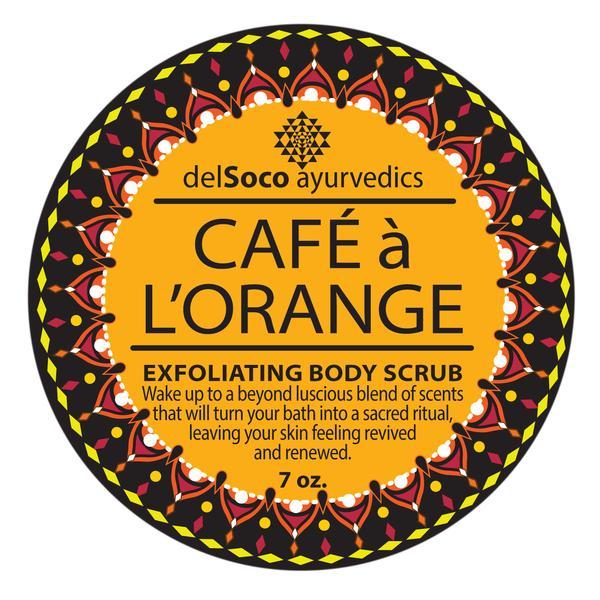 CAFE a l-ORANGE Exfoliante Anticelulitico