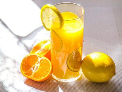 Bebida energizante hecha en casa