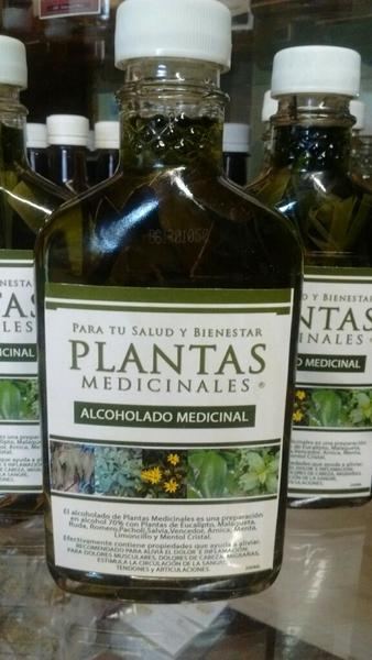 MEDICINAL PLANTS ANTI-PAIN SPLASH ALCOHOLADO MEDICINAL